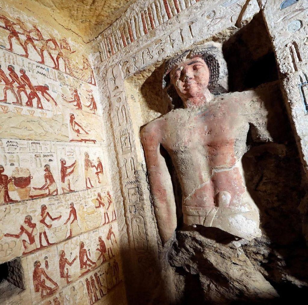 Penampakan Makam Kuno di Mesir yang Berusia 4.400 Tahun.