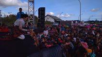 Goyang Fitri Carlina Sedot 1.636 Wisman Malaysia ke Nanga Badau