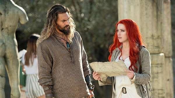 Susah Move on dari Amber Heard di Aquaman, Lihat Fotonya Yuk!