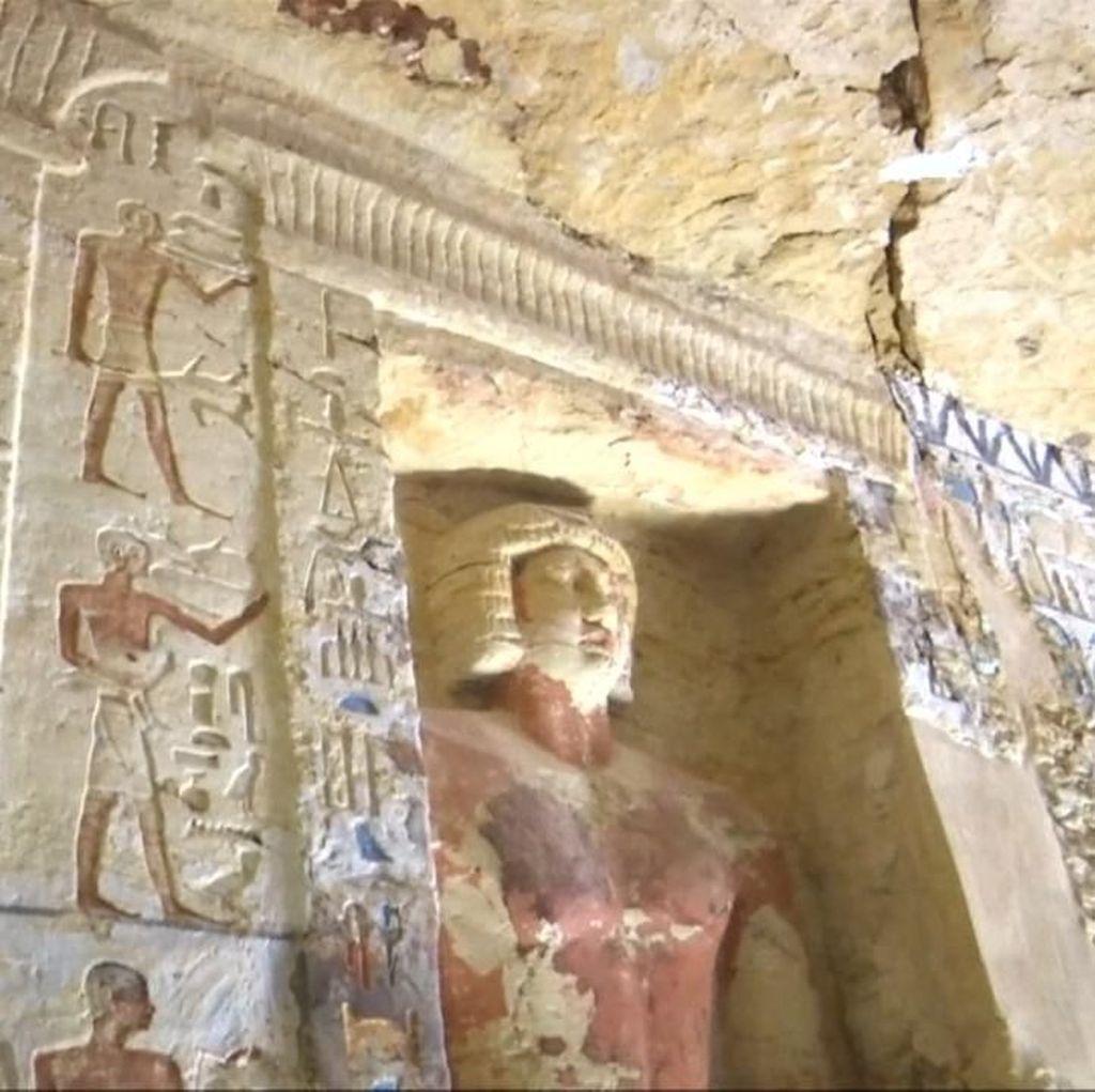 Makam Berusia 4.400 Tahun Berhiaskan Patung Firaun Ditemukan
