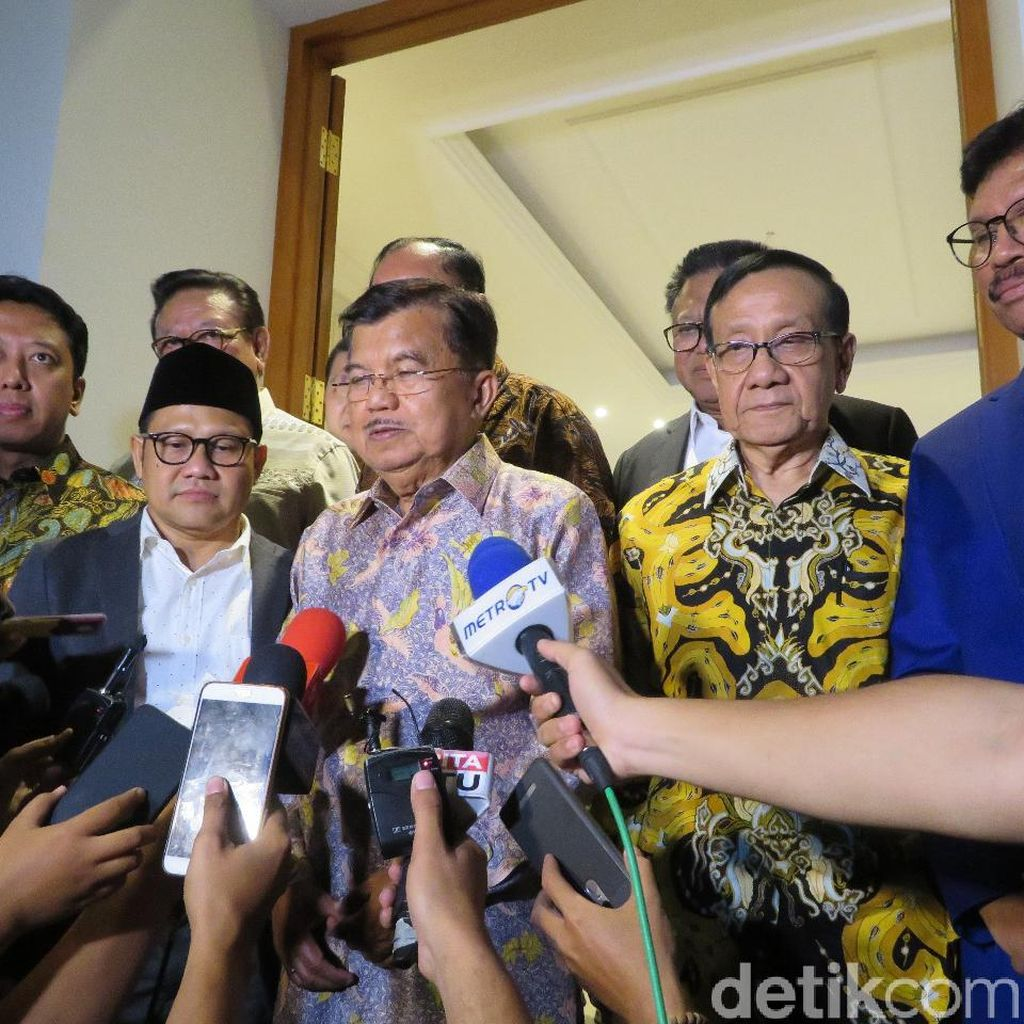 JK: Banyak Hasil Survei Digabungkan, Jokowi-Maruf Tetap Positif