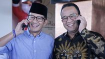 Anies Sapa Sandi di Rakerda Gerindra: Welcome Back Bro!