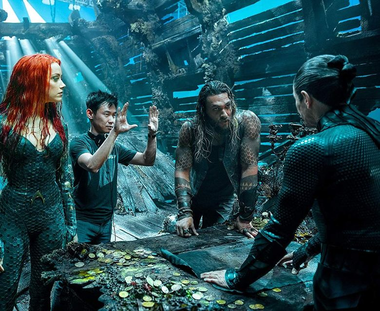Amber Heard tampil di film Aquaman yang digarap oleh James Wan. Dok. Warner Bros Entertainment