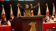 Di Konferensi Gerindra, Anies Acungkan Salam Dua Jari