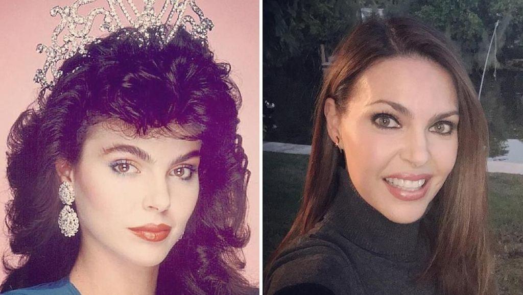 10 Penampilan Juara Miss Universe Jadul, Dulu dan Sekarang