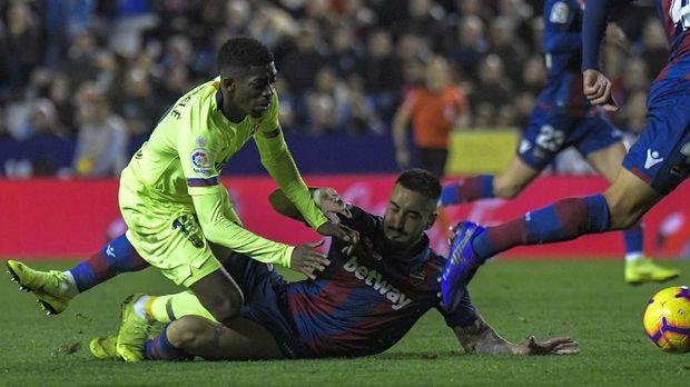 Ousmane Dembele tampil bagus dalam beberapa bulan terakhir dan hal itu yang bakal membuat Barcelona sulit melepasnya.