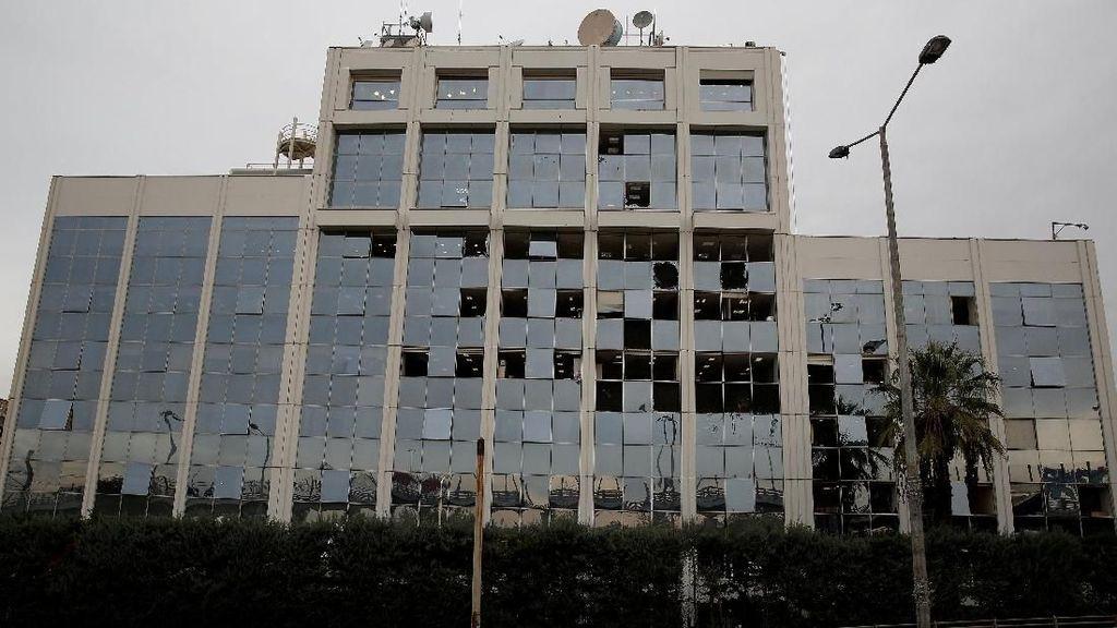 Ledakan Bom Guncang Kantor Televisi Yunani, Gedung Rusak Parah