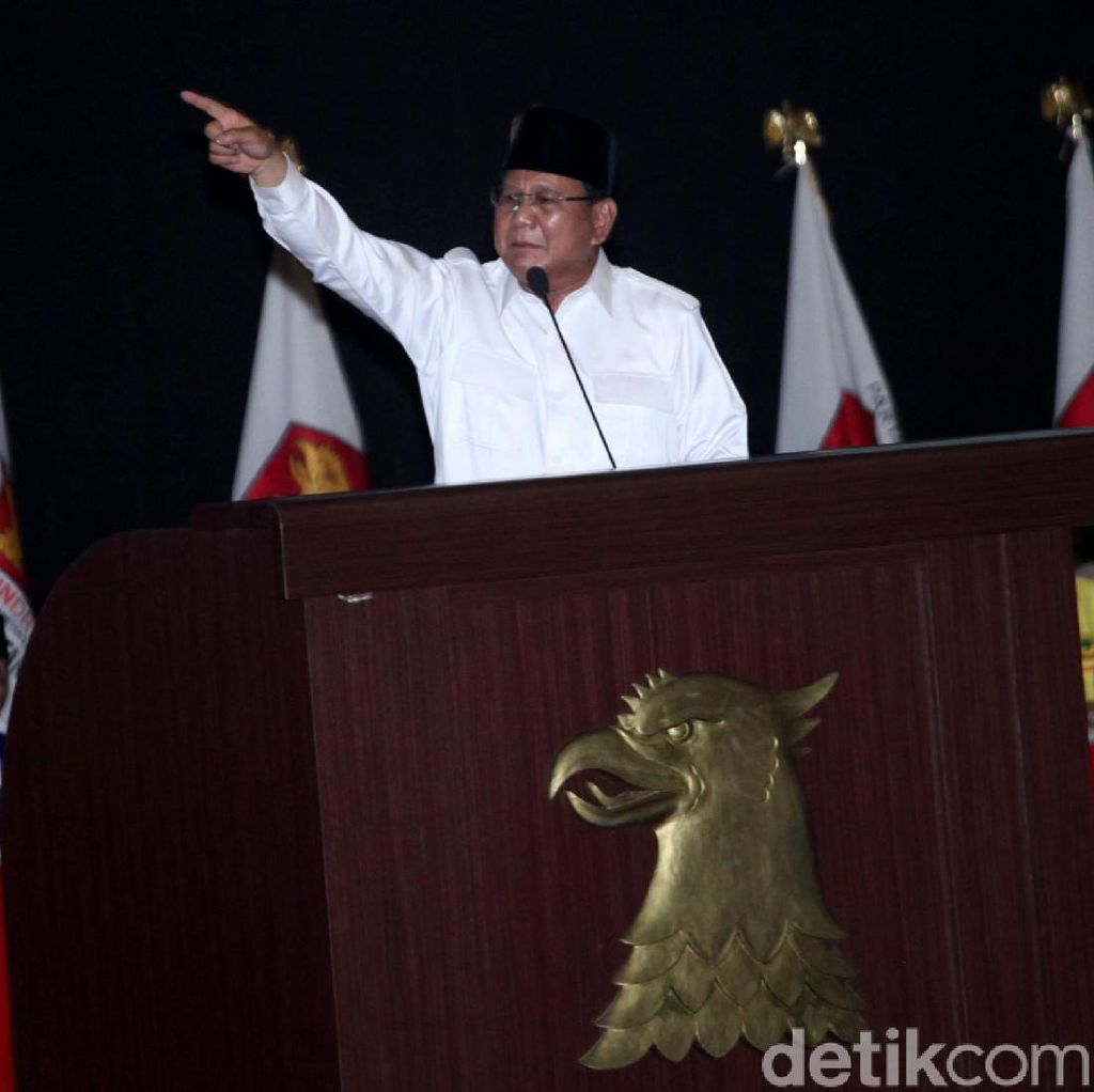 Video Pidato Prabowo yang Sebut Negara Ini Bisa Punah