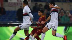 Hasil Liga Italia: Roma Kalahkan Genoa 3-2