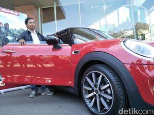 Ada Tawaran Rp 500 juta, Driver Ojol ini Tahan Tidak Lepas MINI Coopernya