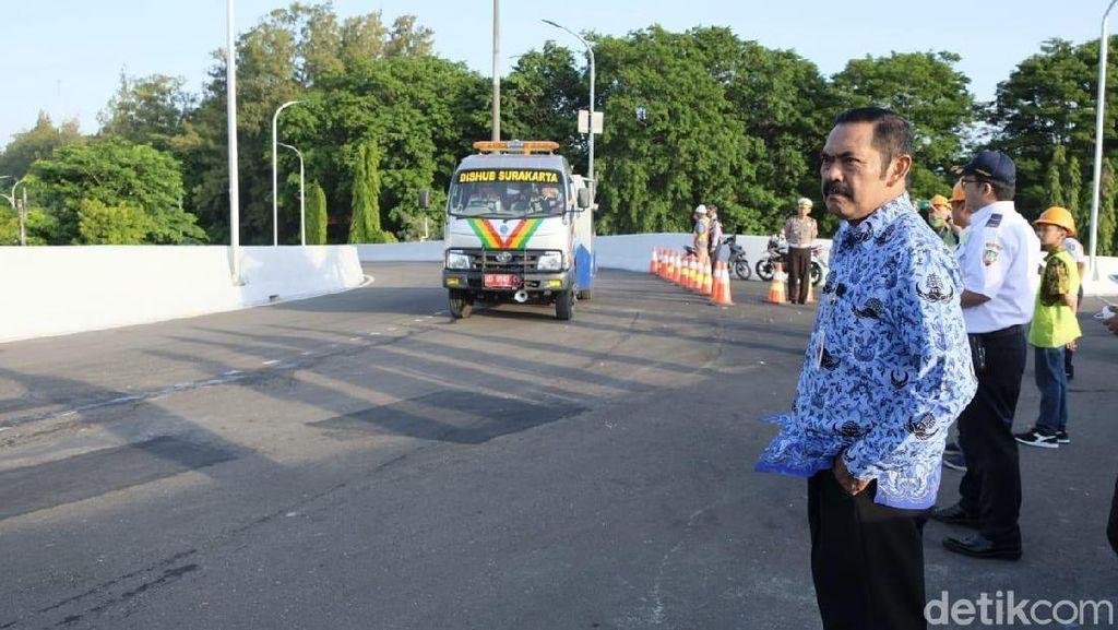 Siap-siap, Flyover Manahan Solo Diuji Coba Hari Ini