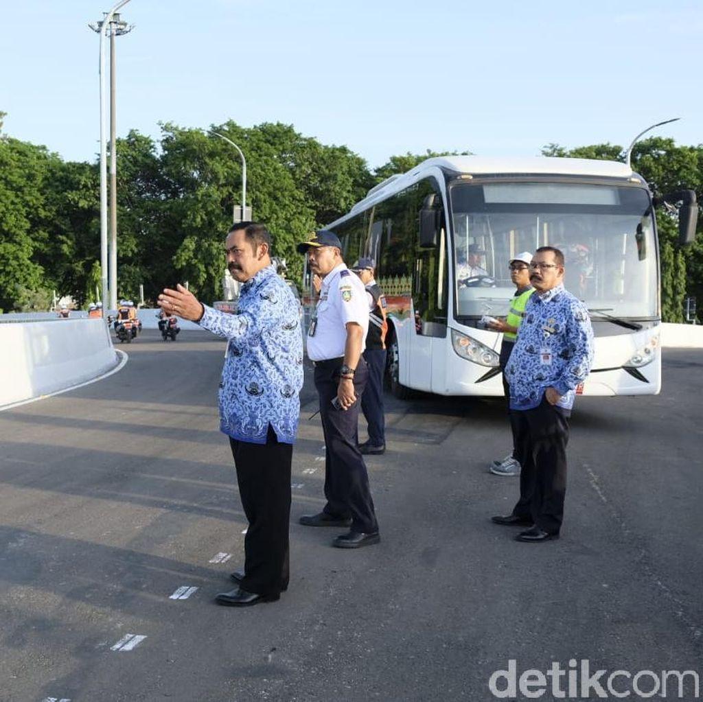 Hasil Uji Coba: Kecepatan di Flyover Manahan Dibatasi 30 Km/Jam