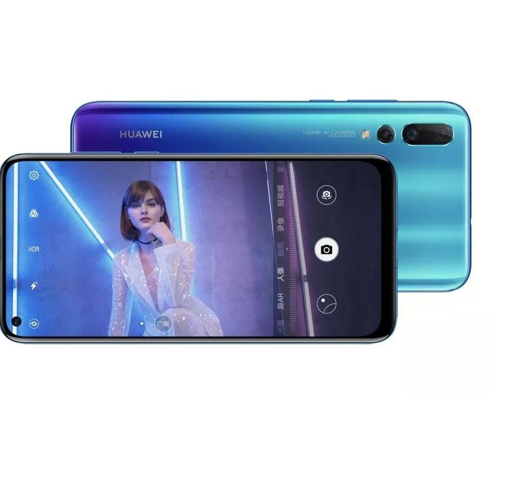 Huawei Nova 4 Diresmikan Pakai Lubang Kamera di Layar