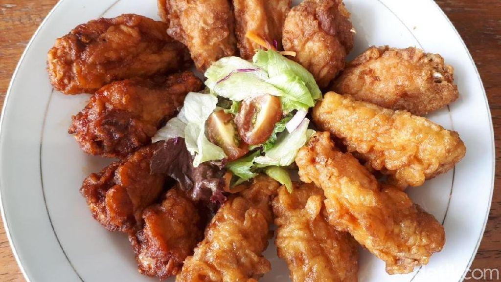 Ayam Goreng Korea dan Shirataki Lezat Buat Makan Siang