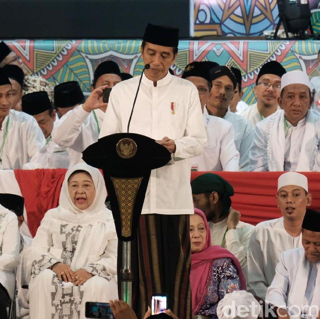 Jokowi Tepis Hoax: Saya Nggak Marah, Hanya Menjawab