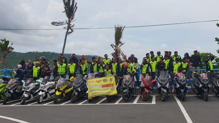 Gaung #nodrivingunder17 Sampai Lombok