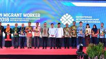 detikcom Raih Indonesian Migrant Worker Award 2018
