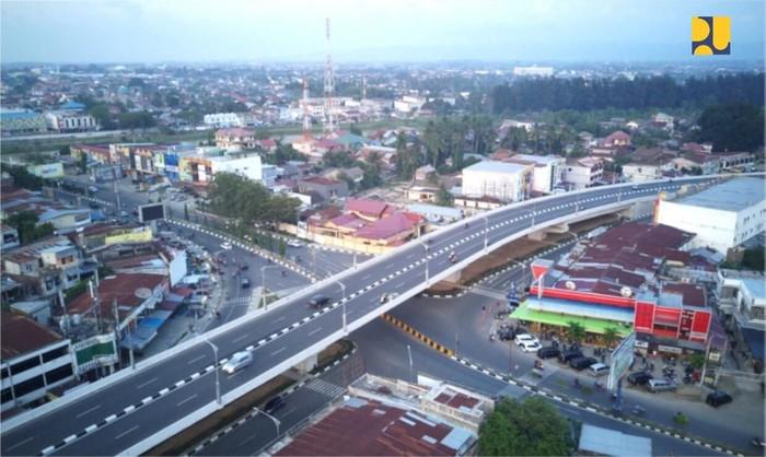 Keren Penampakan Flyover Simpang Surabaya Di Aceh