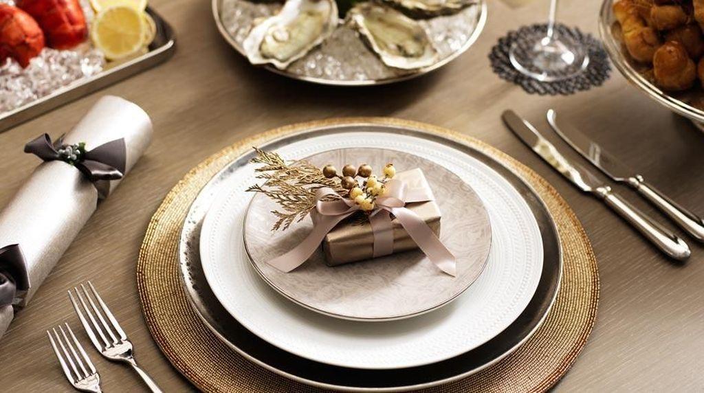 Tips Menyusun Meja Makan di Rumah Semewah di Restoran