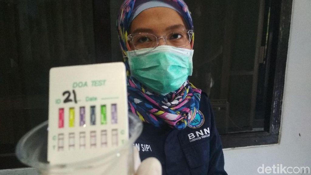 Tes Urine DPRD Trenggalek, BNN Temukan 1 Positif Mengandung Narkoba
