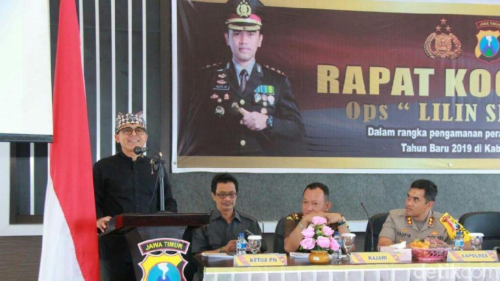 Polisi Gelar Rakor Operasi Lilin Semeru Jelang Natal dan Tahun Baru