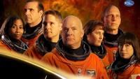 Mereka bahkan melakukan photoshoot para krunya dan juga mengedit hingga mirip dengan poster aslinya.Dok. NASA