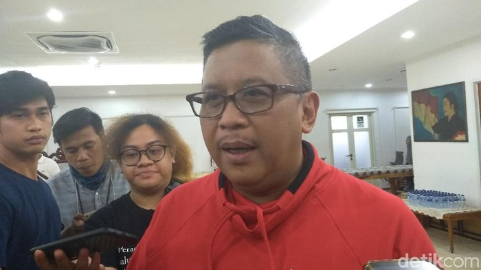 Sekjen PDIP Hasto Kristiyanto (Azizah/detikcom)