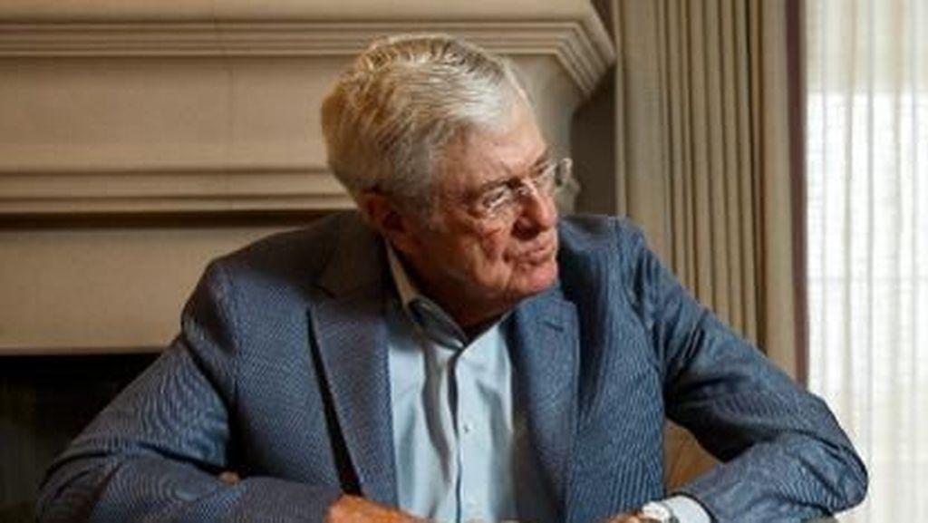 Charles Koch, Manusia Rp 697 T yang Sukses dari Bisnis Warisan