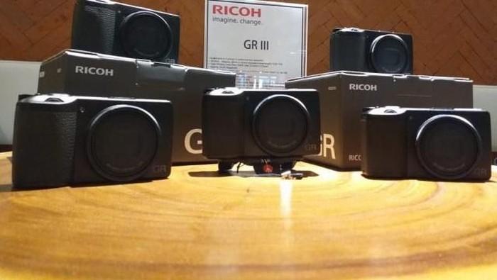 Peluncuran kamera Ricoh GR III. (Foto: Dok. Enche Tjin)