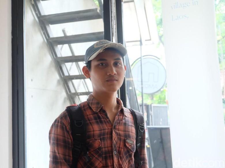 Cerita Andre Septiawan Bawa Mitos Minang ke Ranah Fiksi  Foto: Tia Agnes/ detikHOT