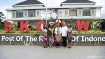 Batik Papua, Cendramata Wajib di Festival Crossborder Skouw 2019