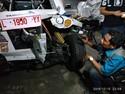 Waduh, Mobil Listrik Mahasiswa Budi Luhur-ITS Kecelakaan