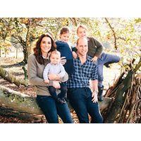 Kartu Natal 2018 keluarga Pangeran William dan Kate Middleton.