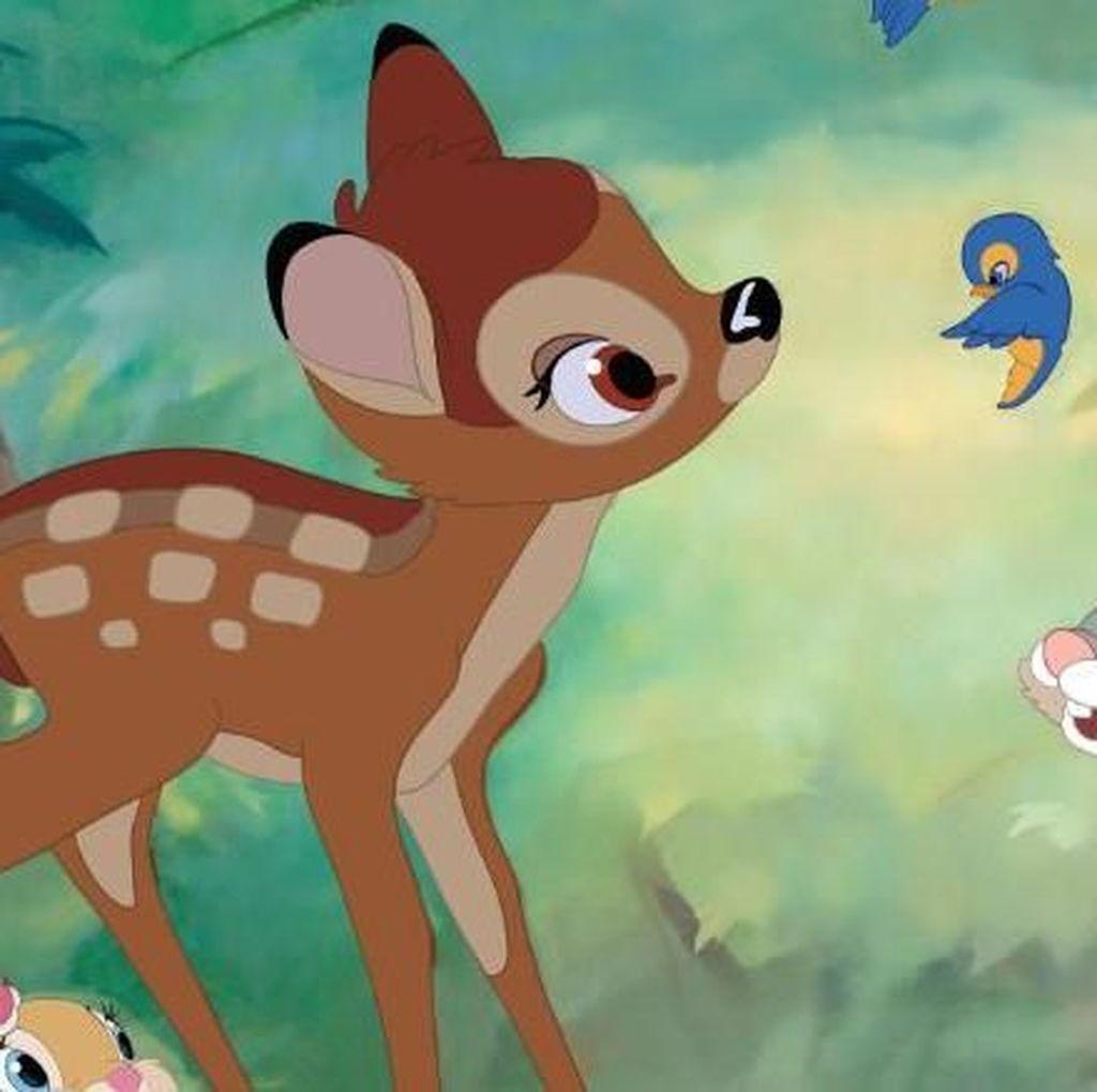 Berburu Rusa Ilegal, Pria AS Wajib Nonton Kartun Bambi di Penjara
