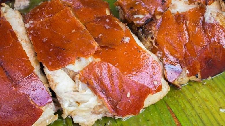 Ilustrasi daging babi panggang. (Foto: iStock)
