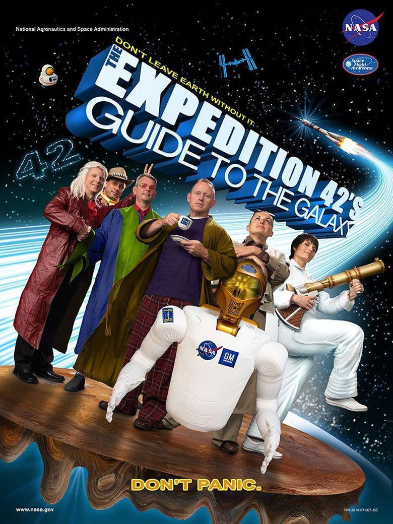 NASA membuat poster perjalanan antariksa mereka dengan gaya berbeda yaknimengikuti poster film. Dok. NASA