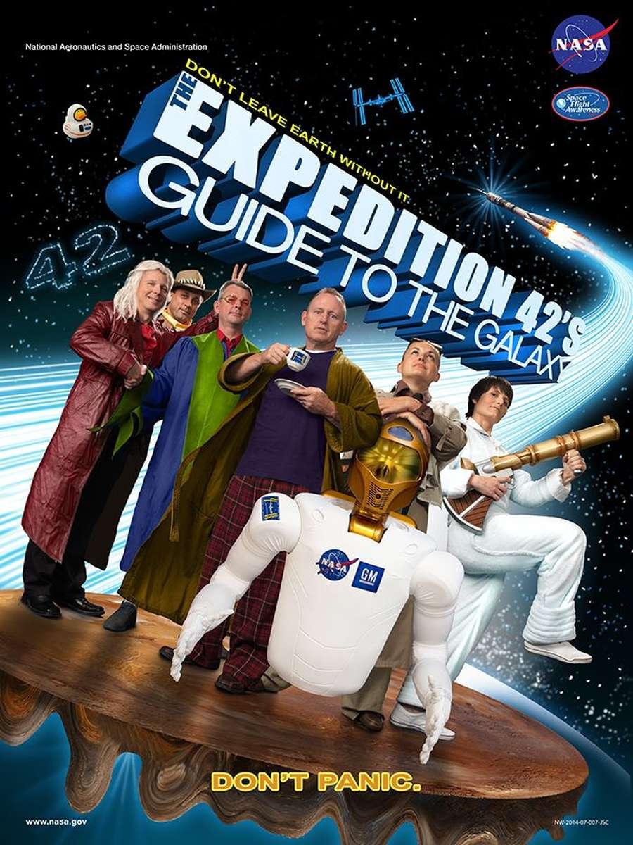 Saat NASA Buat Laporan dengan Poster Film Hollywood