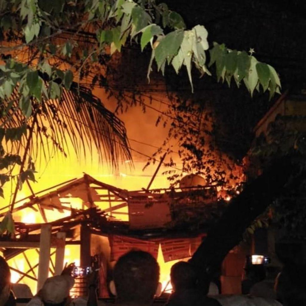 Kebakaran di Cipinang Muara Padam, 6 Rumah Hangus