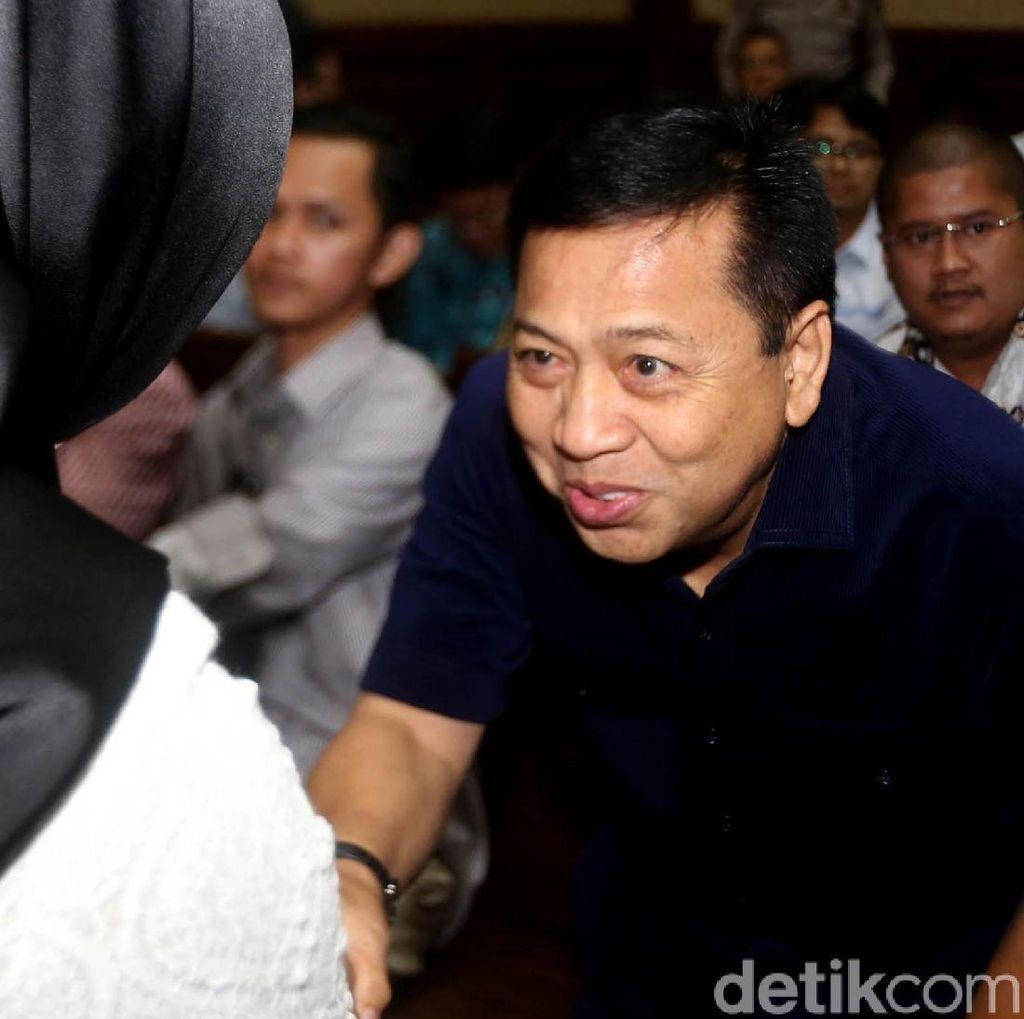 Izin ke Luar Lapas Sukamiskin, Setya Novanto Ingin Rawat Inap
