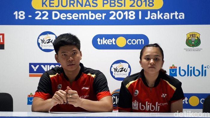 Praveen Jordan/Debby Susanto meraih kemenangan pertama untuk PB Djarum. (Mercy Raya/detikSport)