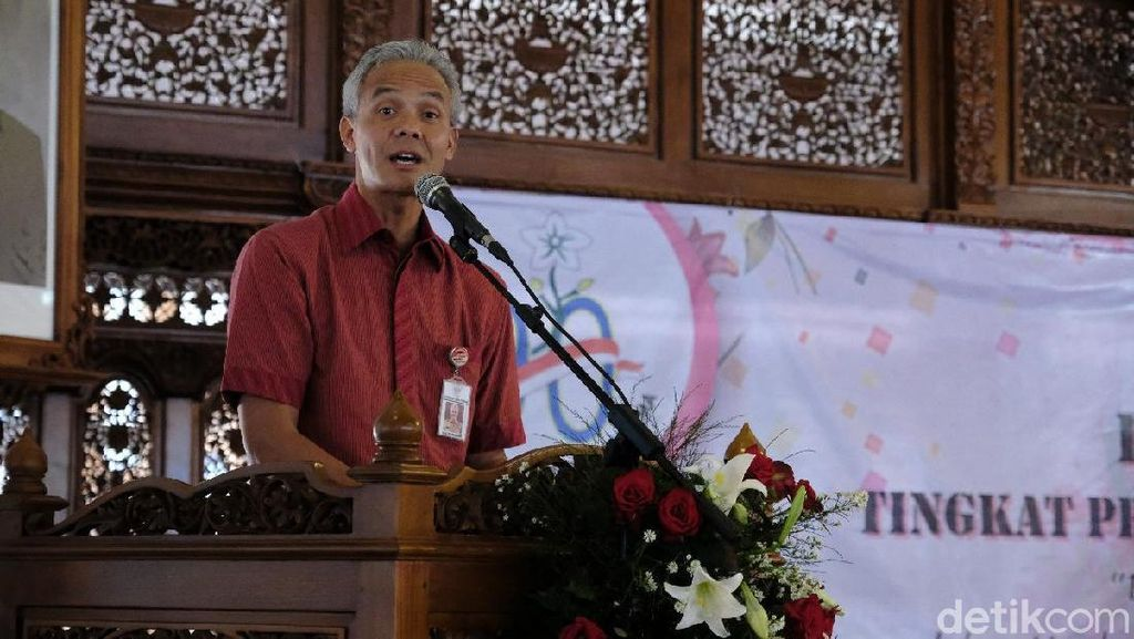Asprov PSSI Jateng Ditangkap Soal Pengaturan Skor, Ganjar: Bongkar!