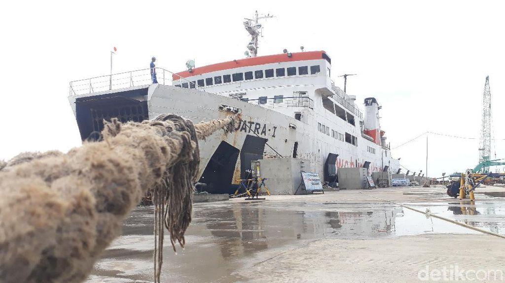 Libur Natal-Tahun Baru, 64 Kapal Dioperasikan di Pelabuhan Merak