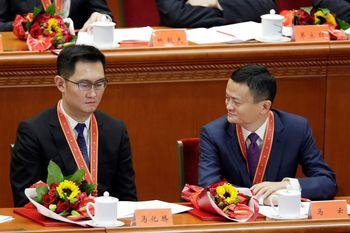 Dedengkot Teknologi China Jack Ma dan Pony Ma Jumpa, Ada Apa?