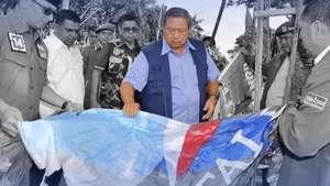 Baliho SBY Dirusak
