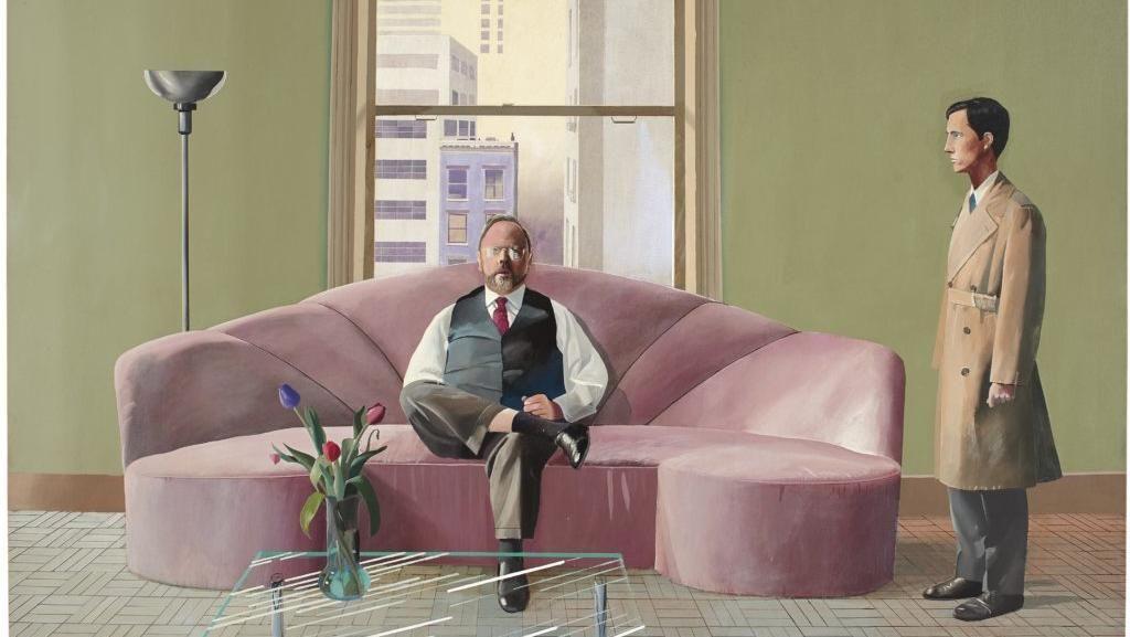 Pecahkan Rekor Rp 1,3 T, Lukisan David Hockney Lainnya Dilelang Lagi