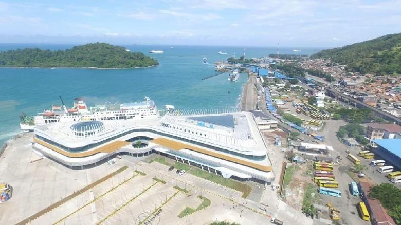Foto: Dermaga eksekutif Pelabuhan Merak (dok PT ASDP)