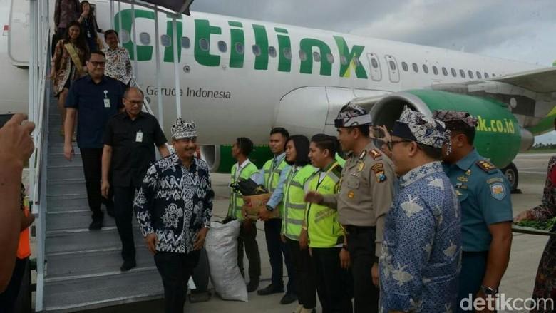 Foto: Menpar Arief Yahya dan Bupati Anas (Ardian Fanani/detikTravel)