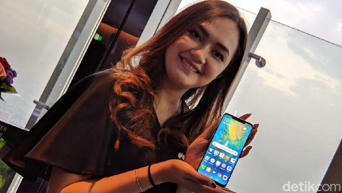 Huawei Mate 20 Pro rilis di Indonesia (Foto: Adi Fida Rahman/detikINET)