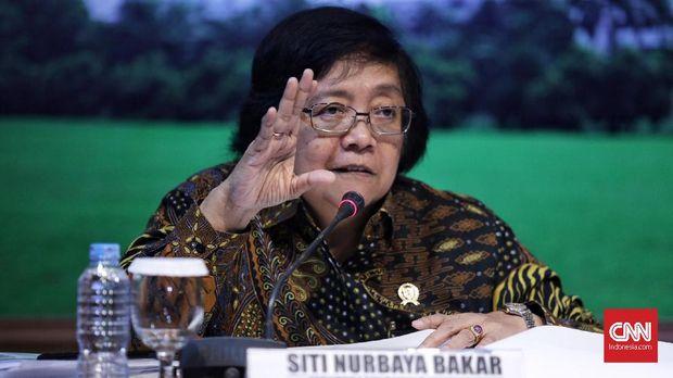 Menteri LHK Siti Nurbaya Bakar.