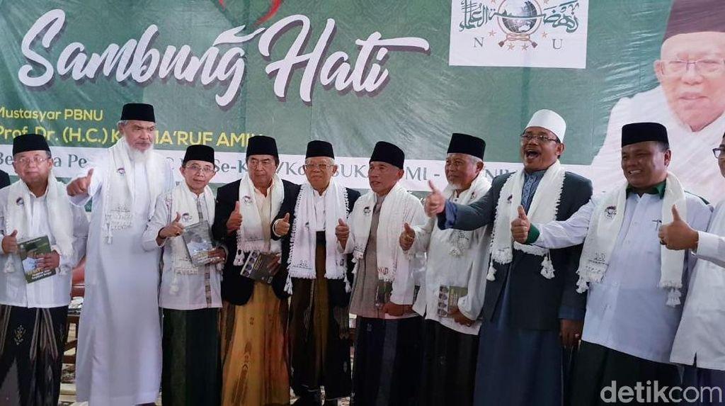 Maruf Amin: NU Harus Habis-habisan Menangkan Jokowi dan Saya